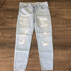 Forever 21 boyfriend jeans!
